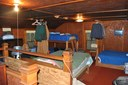 Upstairs, bunks